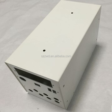 custom sheet metal powder coating aluminum electric box