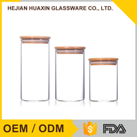 Cheap Borosilicate Colored Glass Canning Jars
