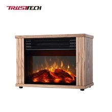Mini Decor Flame Electric Fireplace Stove Heater