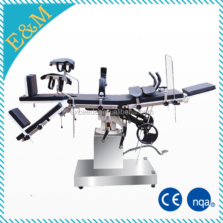 hospital medical hydraulic patient autopsy operating table, mortuary stretcher