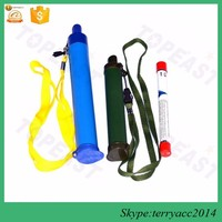 2016 Updated personal water filter straw 1000L outdoor water filter