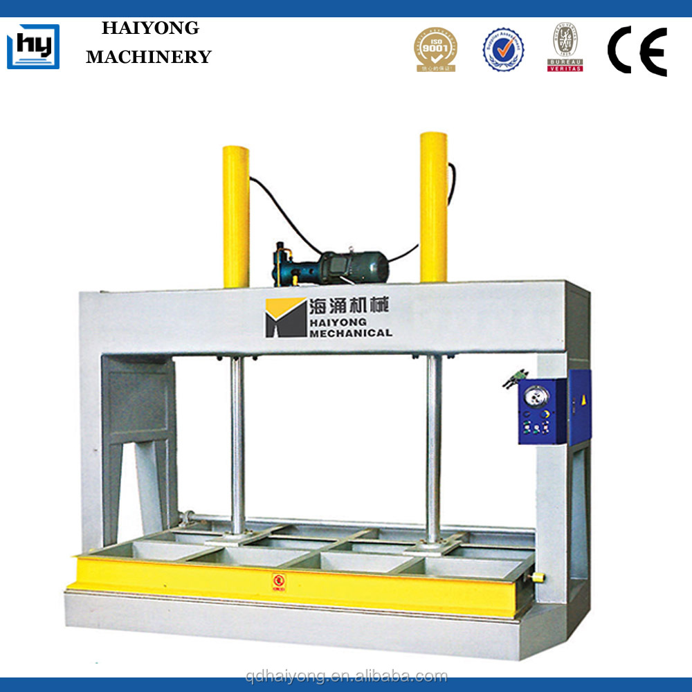 woodworking veneer cold press machine