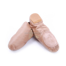 Professional Unisex Slip-on Jazz Shoes with Spandex Gore
