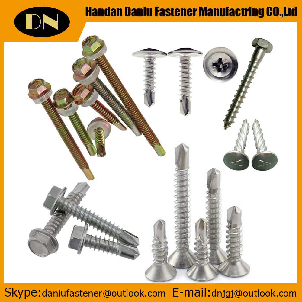Hex head self-drilling <strong>screws</strong>,nylon head self-drilling <strong>screws</strong>