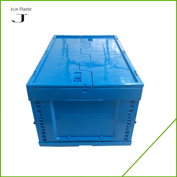 Corrugated Plastic Tote Foldable Box Folding Logistic Container