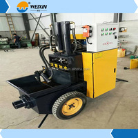2017 Hot sale Saidy Brand Cellular Lightweight small concrete Conveyer pump with cheaper price