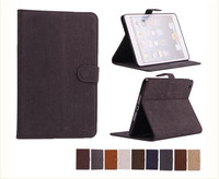 Artificial squirrel leather case for apple ipad mini