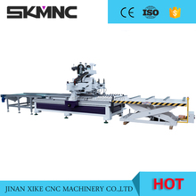 SKMNC Customized Furniture Production Line automatic 1325 CNC Router Woodworking Machine with High Speed ATC System