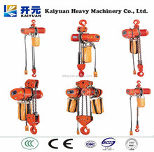 Durable feature operating safety high quality electric chain hoist for Philippines
