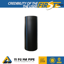 Trade Assurance HDPE black plastic water well pipe factory