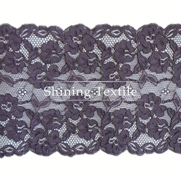 More Than 3000 Designs Nylon Spandex Stock Lace Supplier For Lingerie