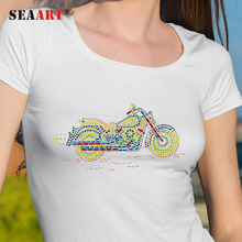 Fashion Motorcycle Heat Transfer Rhinestone Transfer Motifs