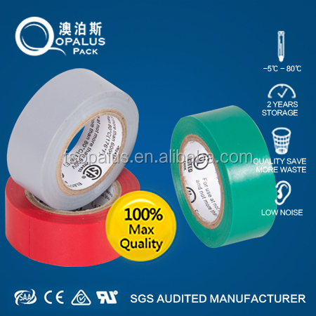 india blue film adhesive pvc electrical tape