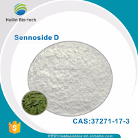 Organic Natural 98% Sennoside D senna leaf extract powder,CAS:37271-17-3