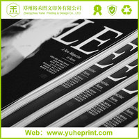 Cut-price magazine printing 200g/250g coated paper fashion glittering inches magazine online