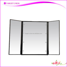 Trendy ladies fashion hyundai folding rechargeable Cosmetic Led Mirror
