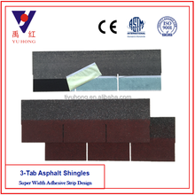 Asian Red 3-Tab Asphalt Roofing Shingles