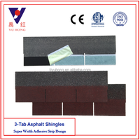 Asphalt Shingles ( Type: 3-Tab, Color: Asian Red )