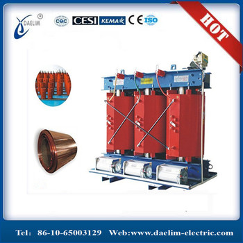 Iron Core Transformer 10kv/400v Dry Type Transformer 1500kva