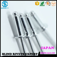 JAPAN STANDARD ALUMINUM BLIND RIVETS