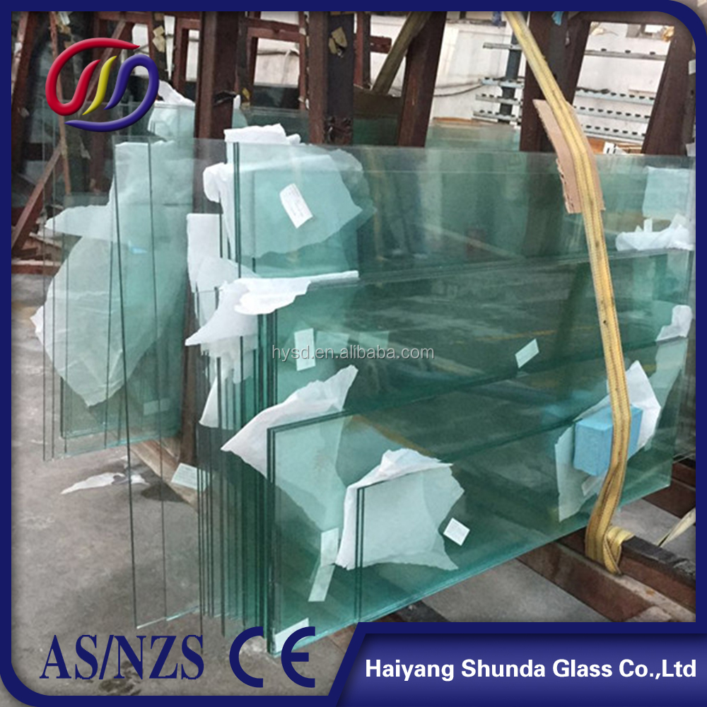 Beijing Haiyangshunda Glass 10mm 12mm Frosted Tempered Glass Partitions For Shower Room