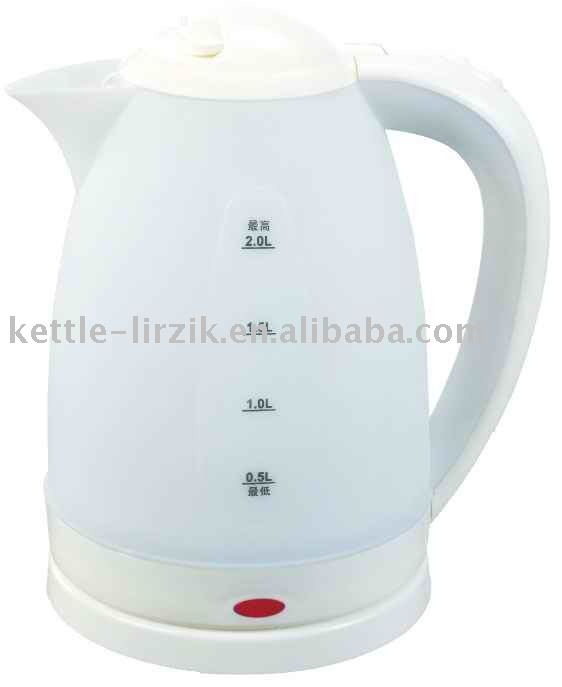 large capacity kitchen appliance 2.0L cordless electric kettle KP20A