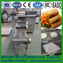 Round or square egg flour spring roll sheet maker