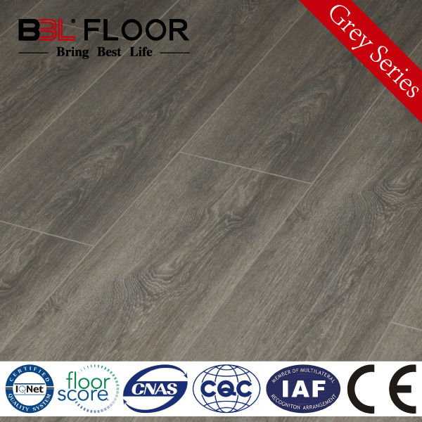 12mm AC4 Woodtexture Grey Series wooden ceiling parquet 9811-7