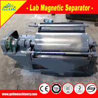 Supply mineral wet processing Drum Magnetic Separator for iron ore testing