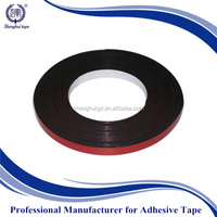 red release film and black PE/EVA foam 1mm thick black foam tape /high performance automotive waterproof foam tape