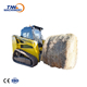 hot sell new design exported wheel loader skid steer loader parts attachments ce suit case bobcat new holland (ZL series)