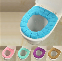 New Soft Bathroom Washable Toilet Seat Cover