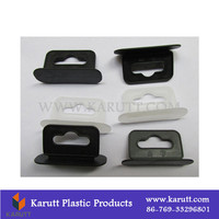 Custom color small display box euro hole plastic display buckles