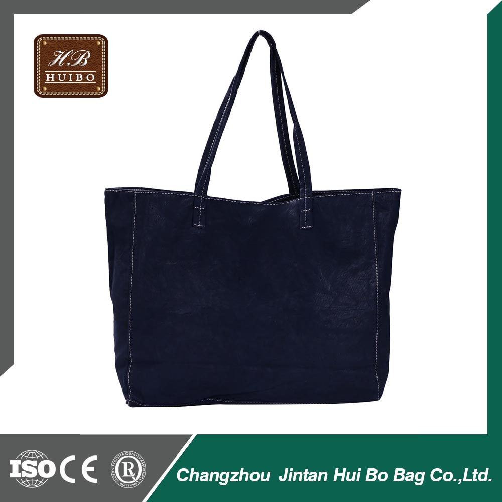 Fashion Woman Lady Classic PU Leather Tote Bag OEM Bag Manufacturer