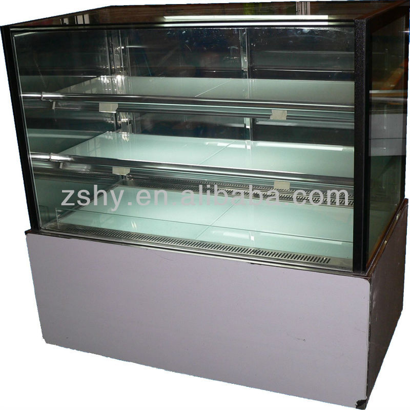CE Tommy-Shop Cake Display Refrigerator Showcase with Straight Glass
