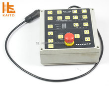 Asphalt paver Dynapac electric winch control box