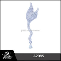 Fashion diamond 925 sterling silver angel wings pendant