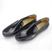 Brazil imported leather men casual loafers dubai outsole shoe