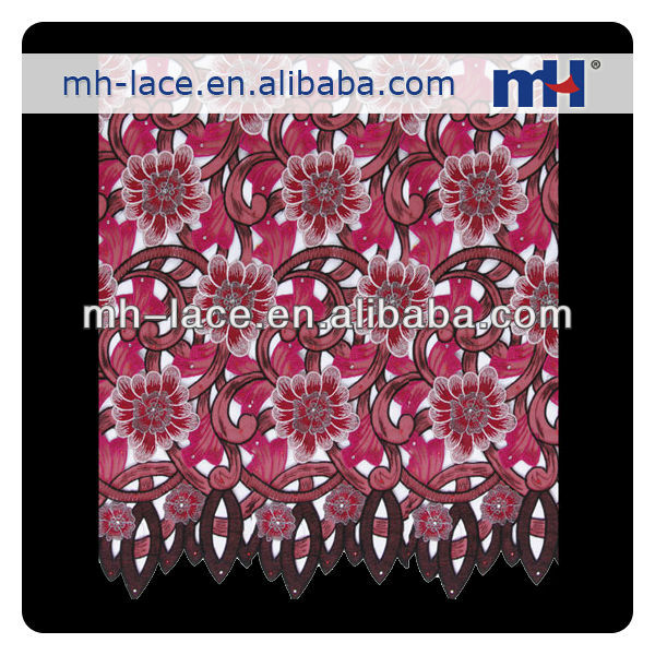 African swiss Cord Lace Fabric