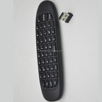 2.4G air mouse for android tv box with usb receiver and wireless keyboard