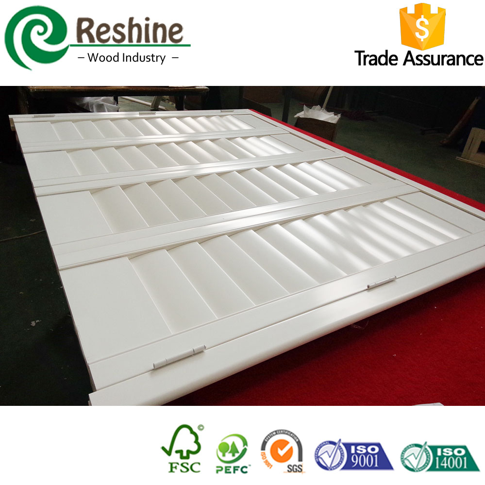 PVC plantation interior window shutter shades