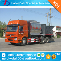synchronous chip sealer bitumen spraying truck for sale