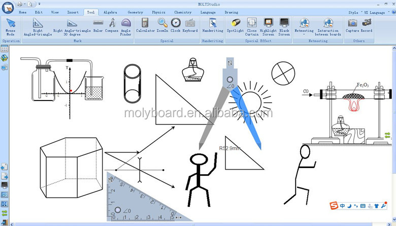 MOLYBoard smart interactive whiteboards for school/ class/kids sale