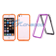 Silicone Clear Frame Bumper Cheap Phone Case For iPhone 5 5G