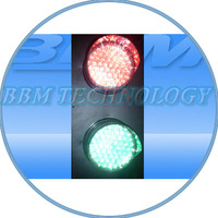 Railway led traffic signal lamp