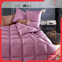 Sticky goose down throw bedding cotton quilt