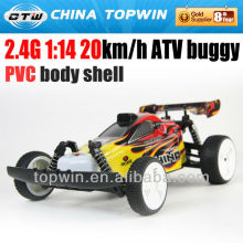 REC916003_2.4G 1 14 PVC body shell ATV buggy buggy nbluck