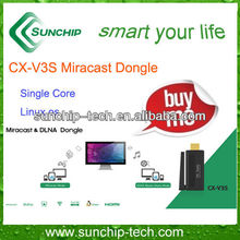 Cheapest TV dongle, Linux OS, 1080P,support Miracast and DLNA Mode