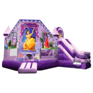Top environmentally friendly children's indoor large safety inflatable trampoline