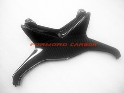 Quality carbon fiber motorcycle parts rear tail center fairing for Kawasaki Ninja ZX6R 636